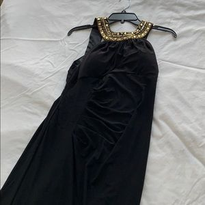 Black long size 12 cleopatra dress